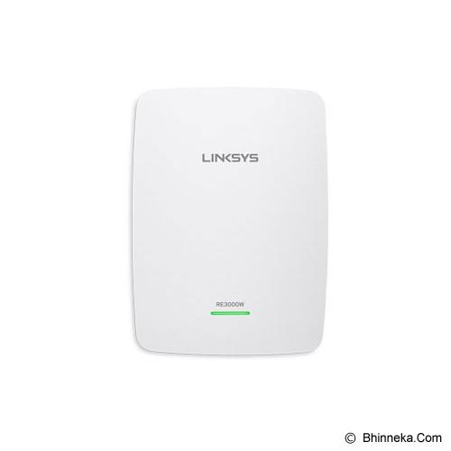 LINKSYS Single Band Wireless-N Range Extender [RE3000W-AG] - Range Extender